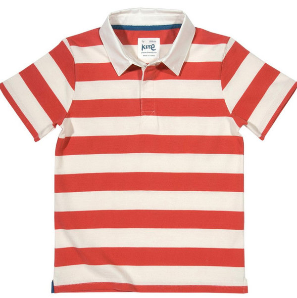 Rugby-Shirt Polo 116 * Kite-Clothing * Bio-Baumwolle