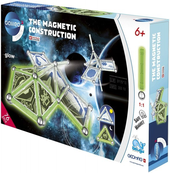 GEOMAG Magnetic Construction 76 Teile * Pro7 Galileo