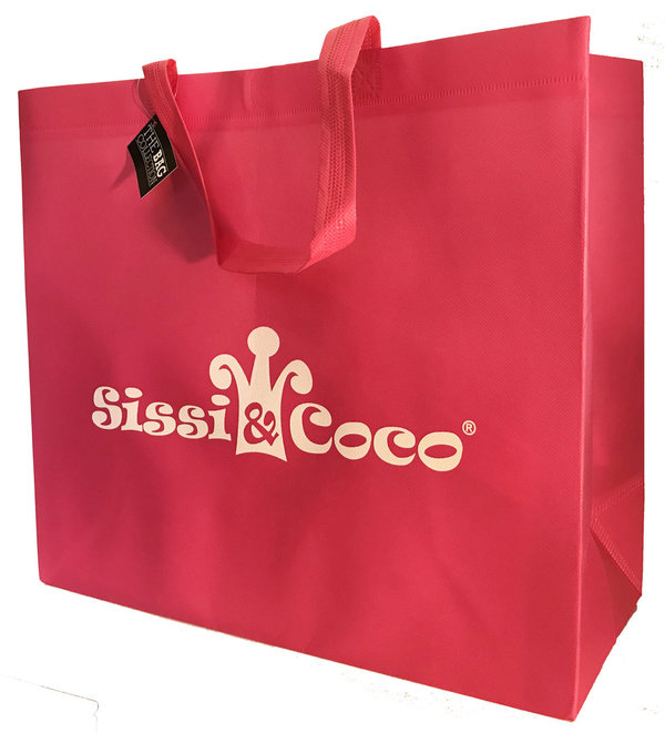 Shopper Tasche Sissi & Coco® rosa / pink